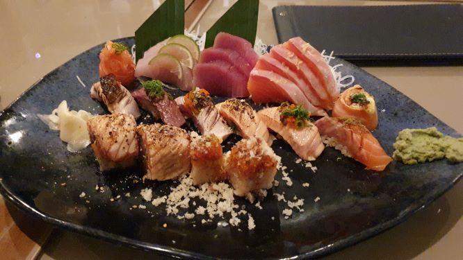 Kawa excelência em comida japonesa