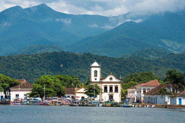 Feriado de 2 de novembro em Paraty, Paraty patrimônio mundial da UNESCO