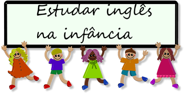 Estudar inglês na infância