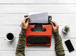 Quer escrever