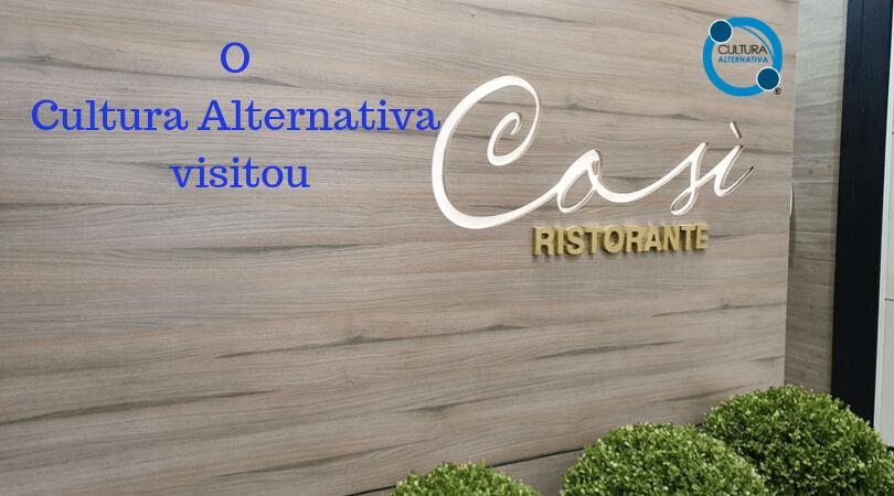 RESTAURANTE COSÌ BRASÍLIA