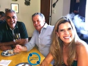 Eu, Robinson Neves e Camile