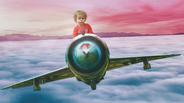 Regras para viajar com as crianças