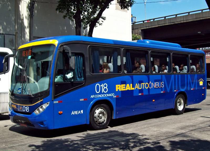 Pegando o ônibus no Galeão em 2020