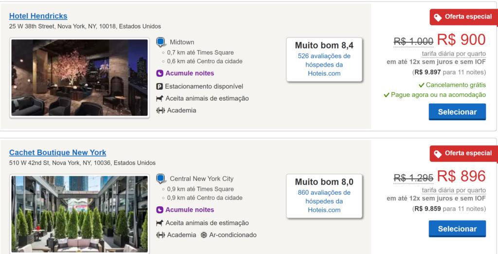 Hotéis Nova York na Páscoa