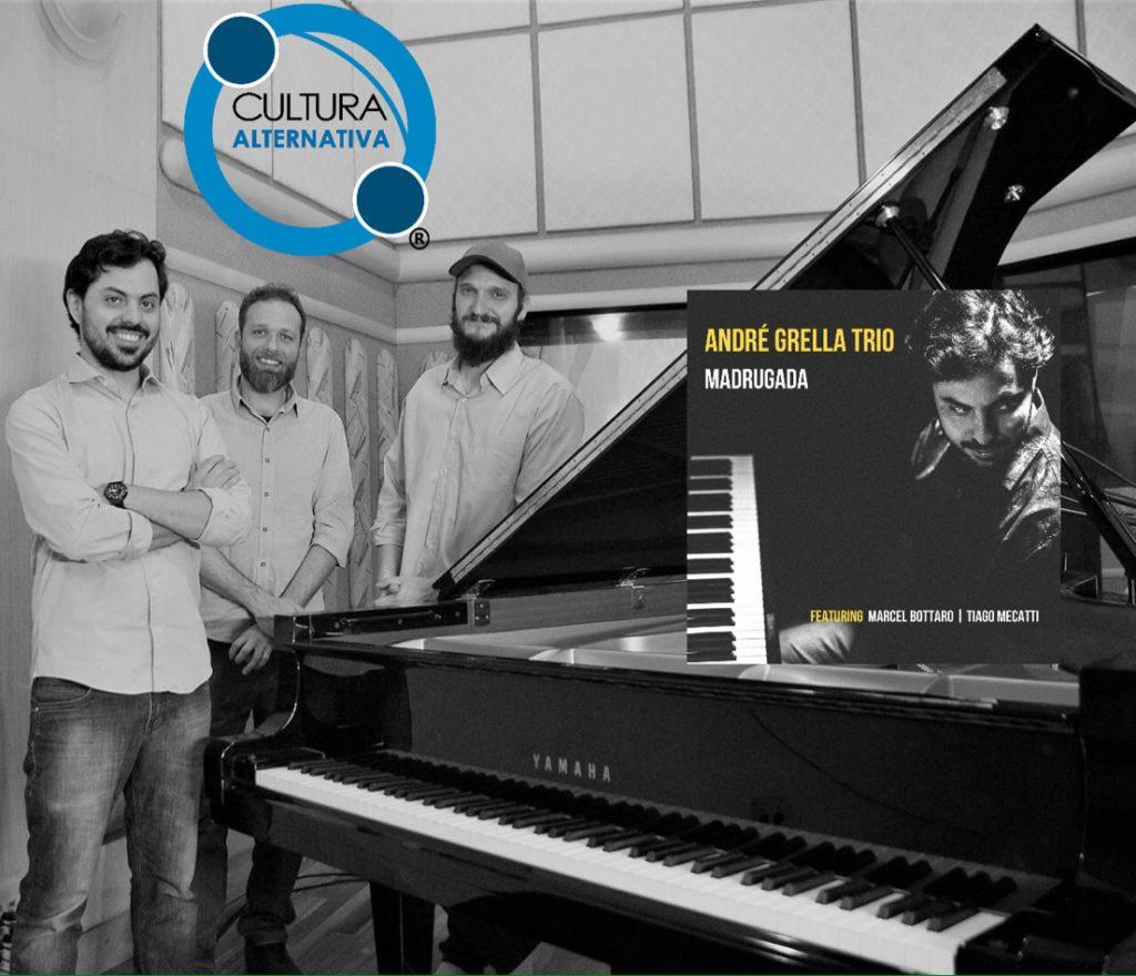 André Grella Trio - Jazz, instrumental em Madrugada lançado em 2020