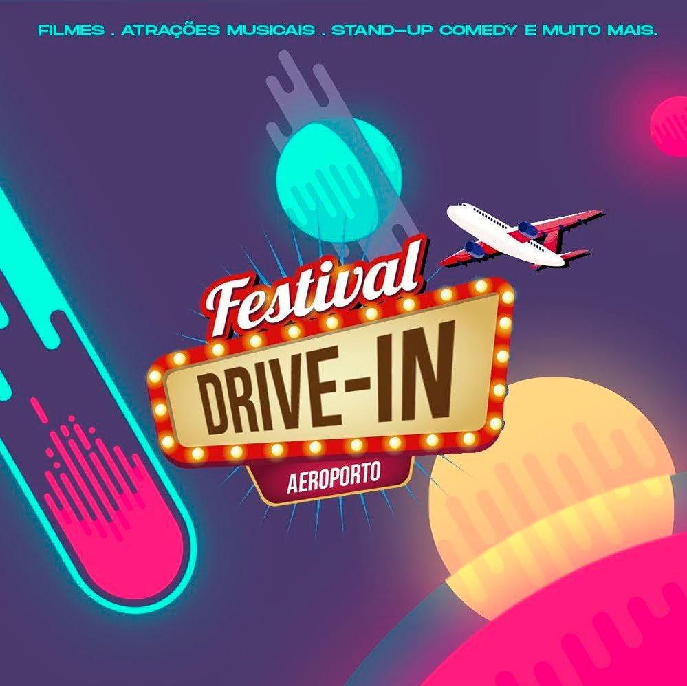 Festival Drive-In de BsB será no aeroporto