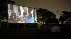 Alpha cine drive-in em São Paulo