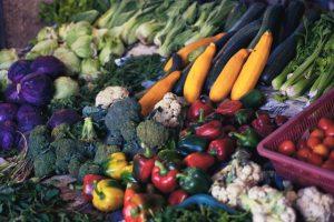 Vegetais gratinados