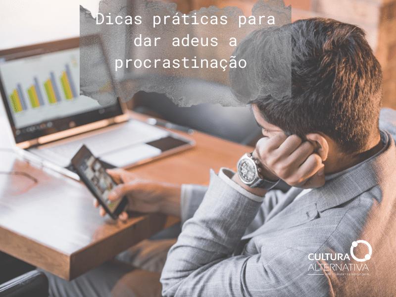 Procrastinação - Cultura Alternativa