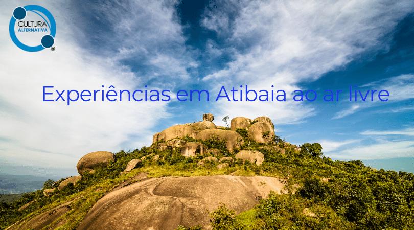 Experiências em Atibaia ao ar livre
