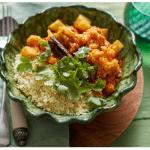 Tagine de legumes com cuscuz marroquino