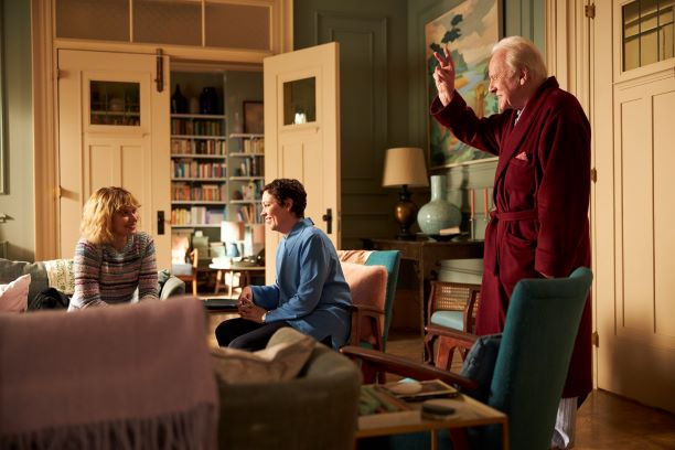 'MEU PAI' - ANTHONY HOPKINS E OLIVIA COLMAN