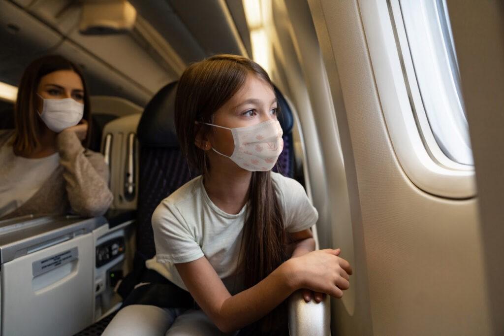 Máscaras em voos LATAM