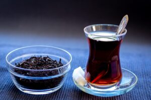 Chá a bebida funcional