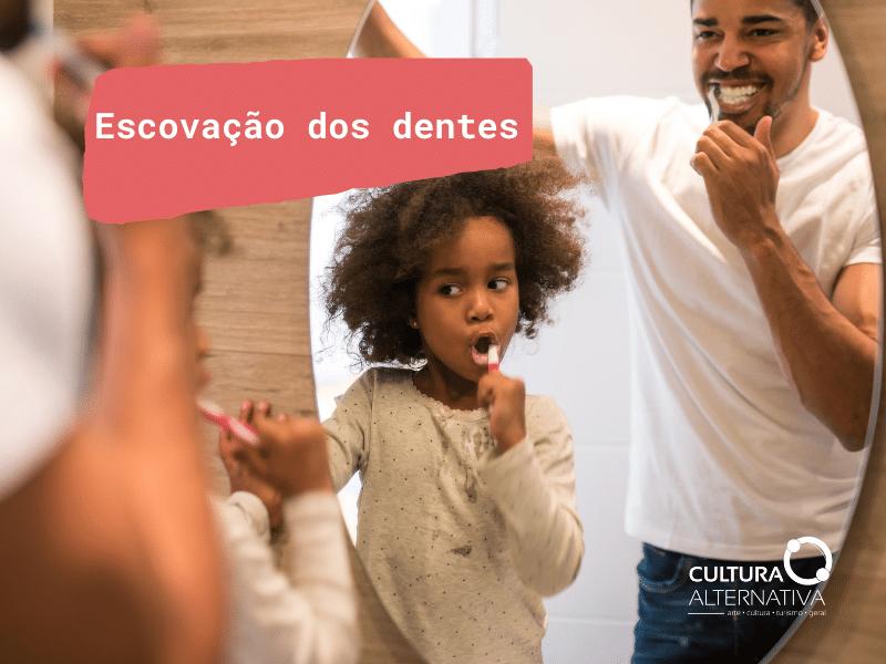 escovação dos dentes - Cultura Alternativa