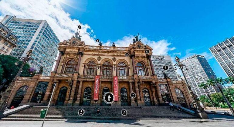 Theatro Municipal de São Paulo inaugura novo tour virtual