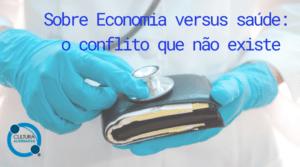 Economia versus saúde - Cultura Alternativa