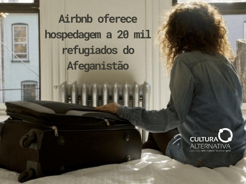 Airbnb oferece hospedagem - Cultura Alternativa