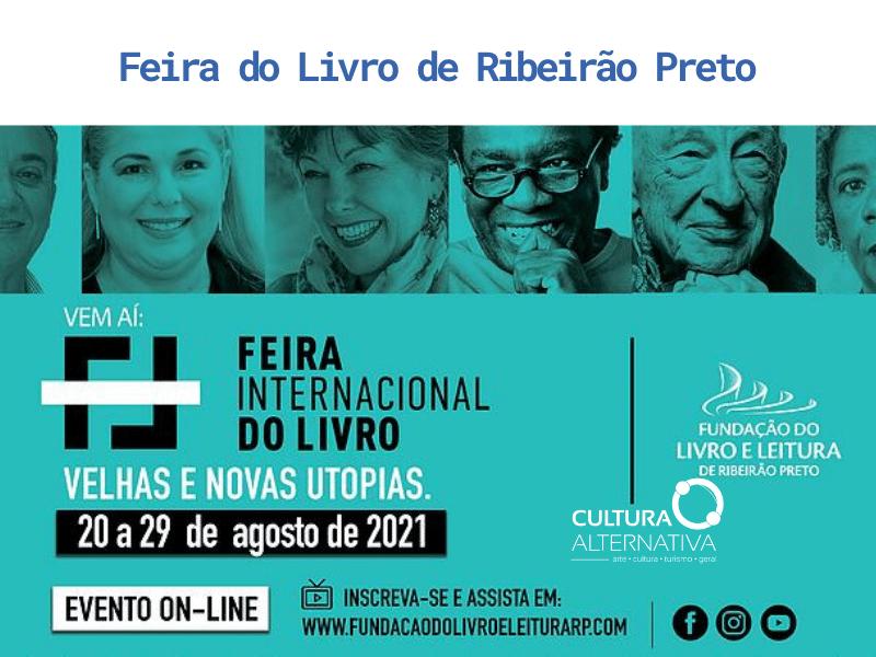 Feira do Livro de Ribeirão Preto - Cultura Alternativa