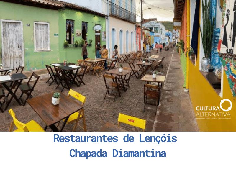 Restaurantes de Lençóis Chapada Diamantina - Cultura Alternativa