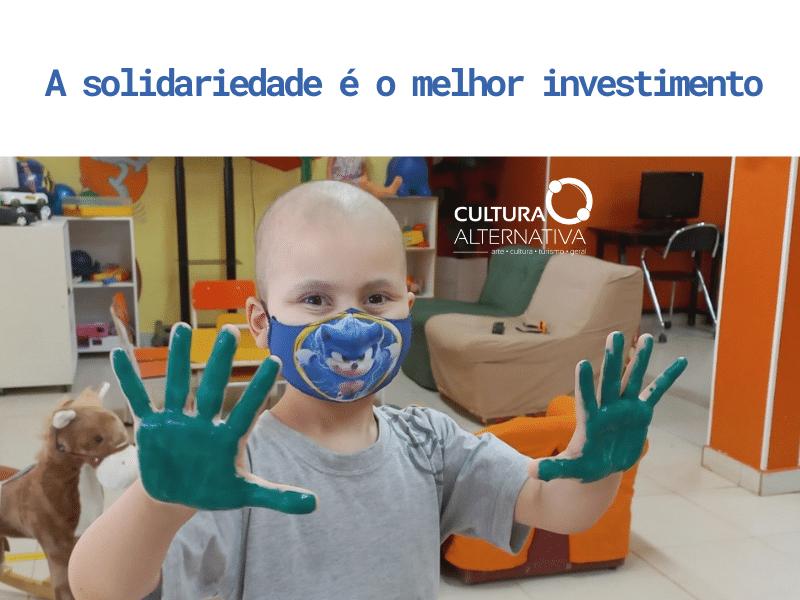 A solidariedade é o melhor investimento - Cultura Alternativa