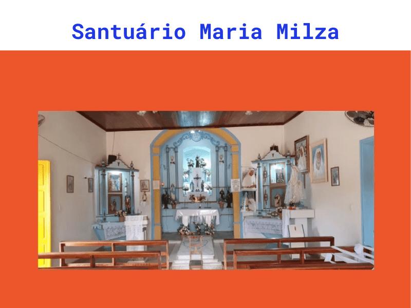 Santuário Maria Milza - Cultura Alternativa